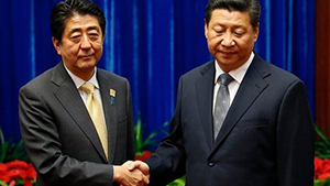 China and Japan leaders